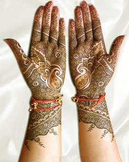 Hands Mehndi Deigns