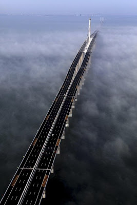 Sea Bridge in China