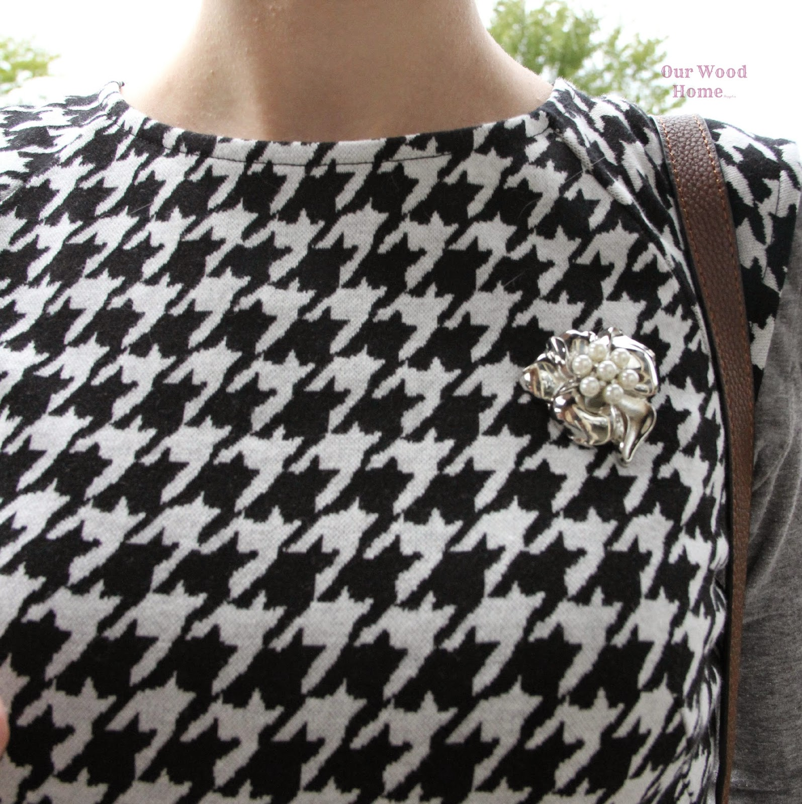 sweater brooch