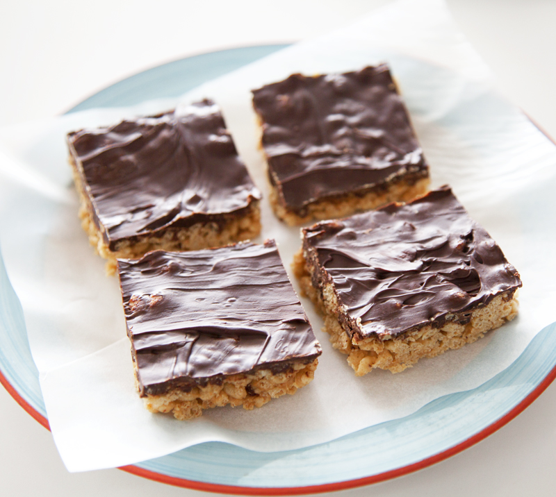 lookbook cookbook vegan crispy chocolate rice squares recipe
