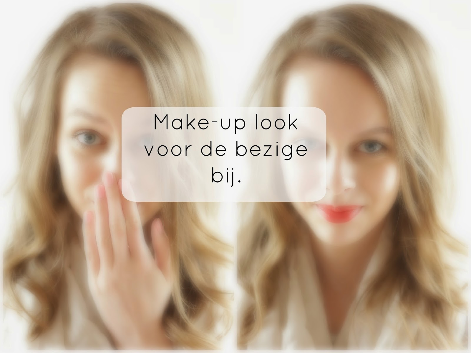 snelle make-up look
