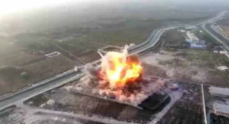 Απίστευτη έκρηξη: παγιδευμένο αυτοκίνητο εξαερώνει βάση του αφγανικού στρατού [βίντεο]