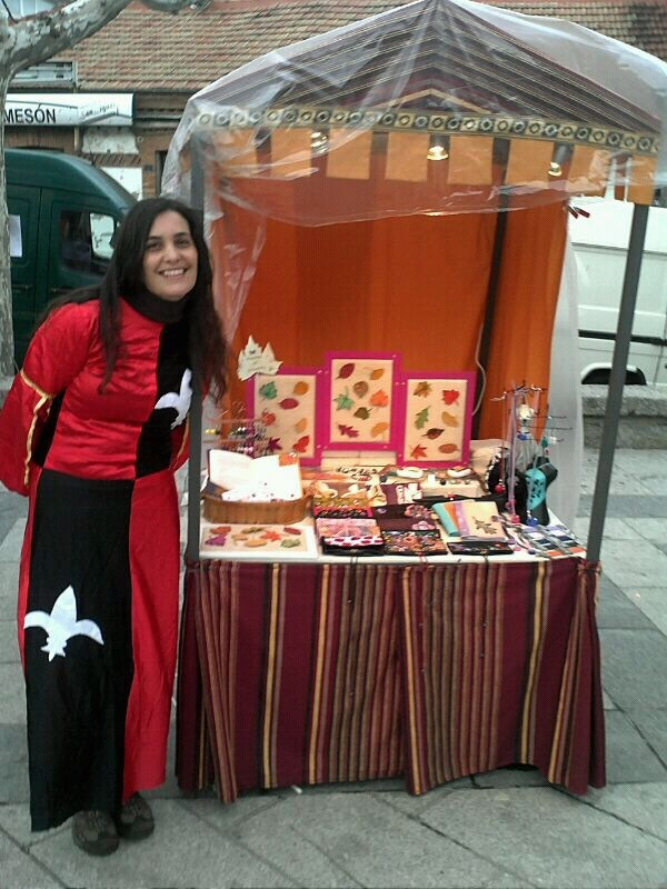stand feria medieval