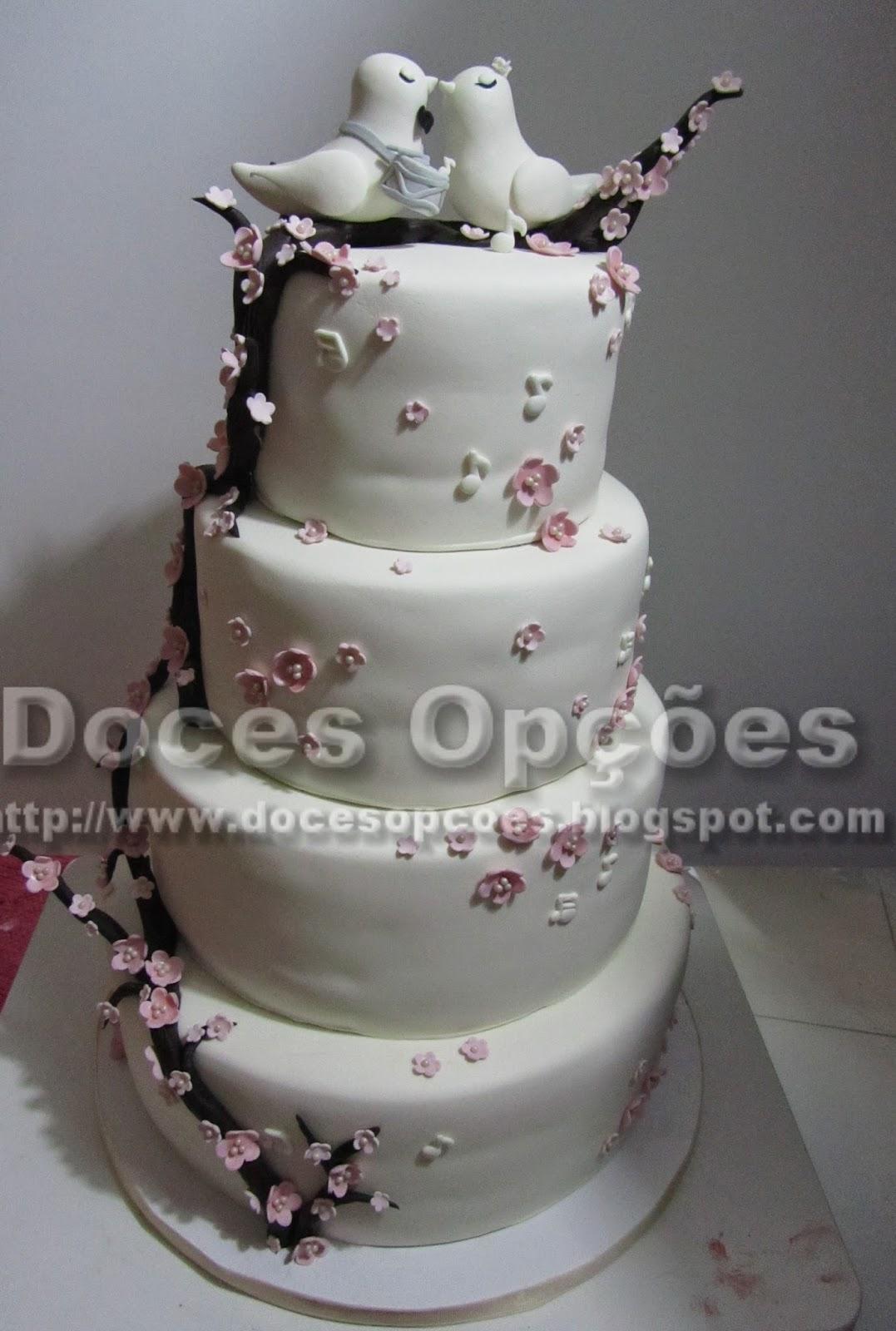 bolos casamento doces opções bragança