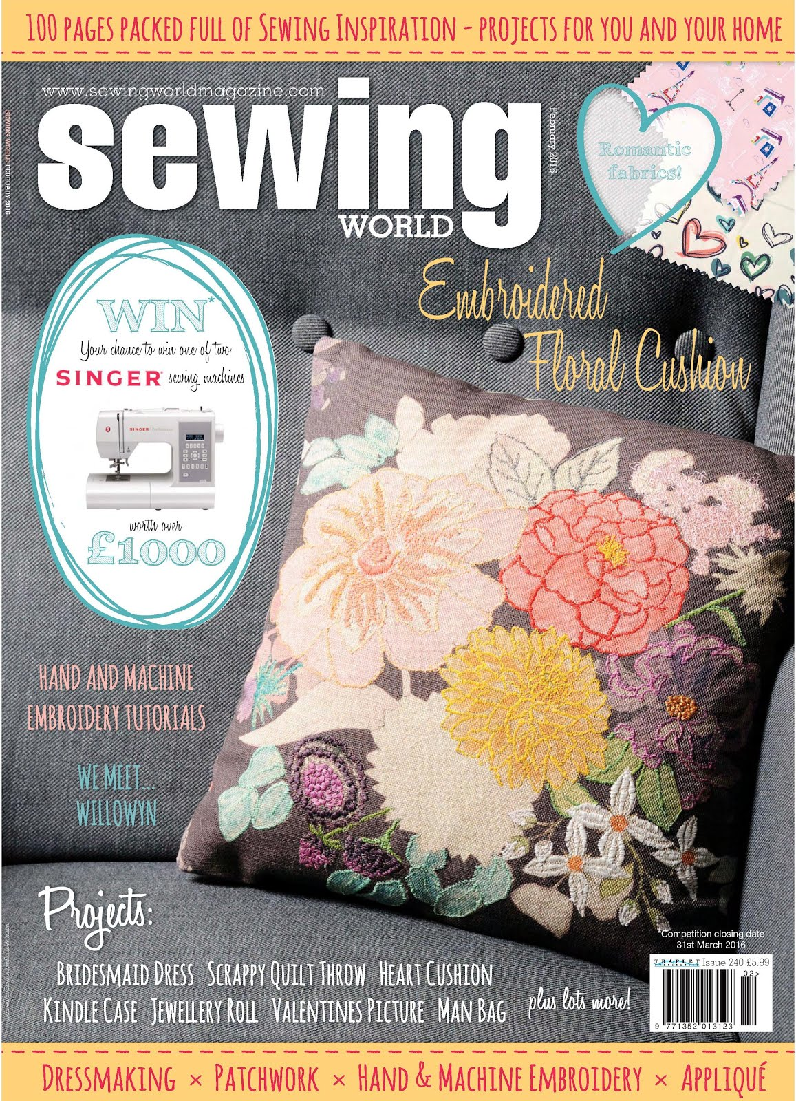 Sewing World February 2016