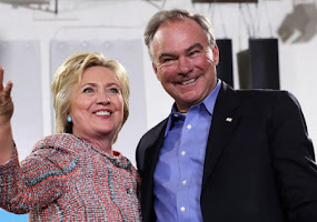 CLINTON-KAINE, A LOSING TEAM DIMINISH AMERICA AGAIN.
