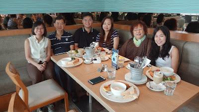 Birthday brunch at Prive cafe