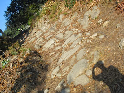 Ancient Roman road in Galicia