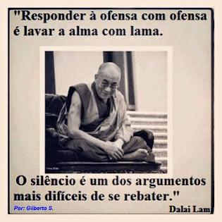 Ofensa e o Silêncio - Dalai Lama