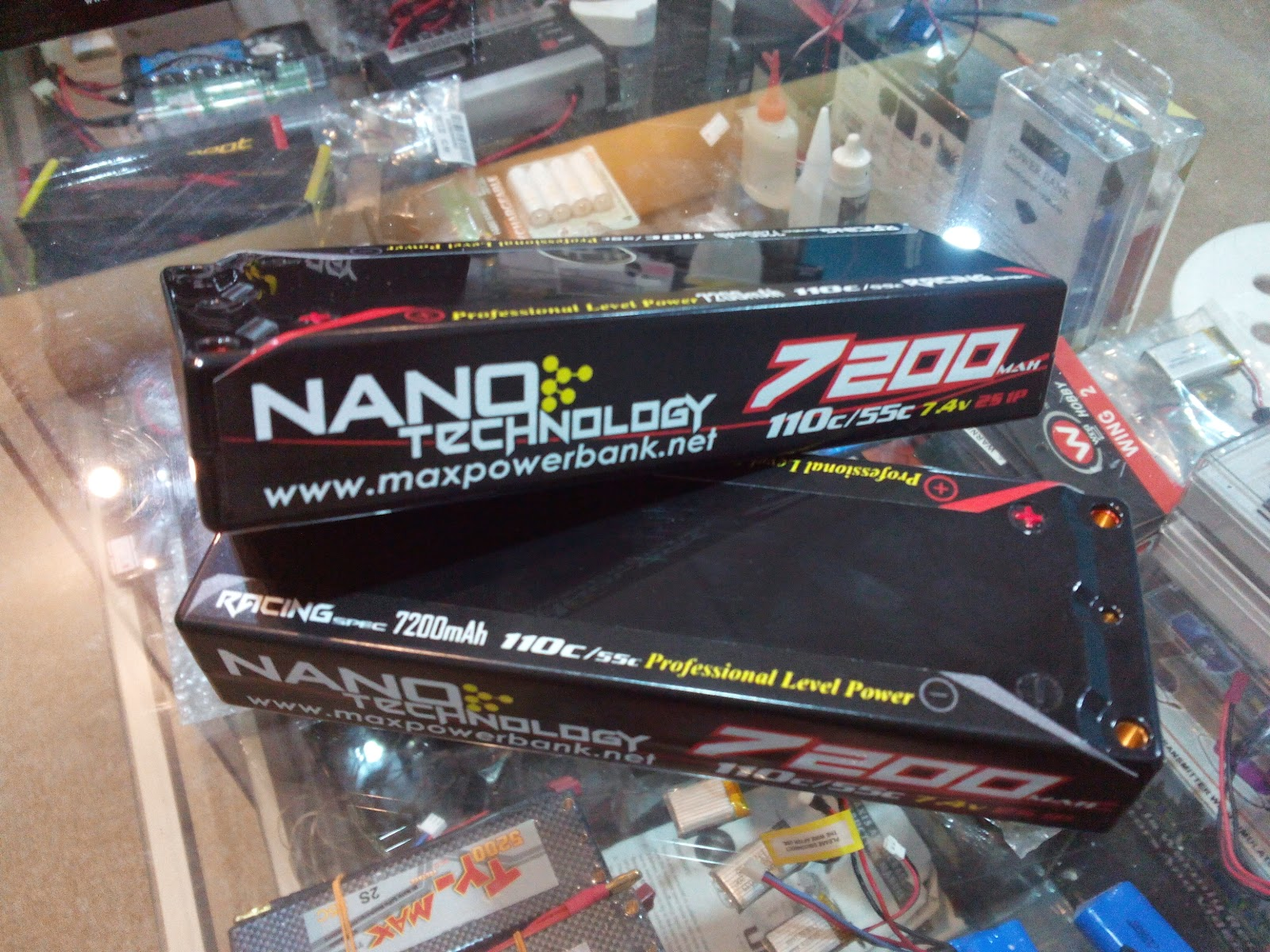NANO MAX BY MAX POWER LIPO BATTERY