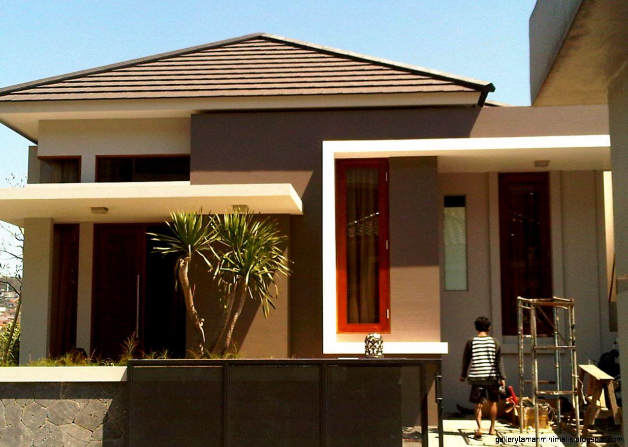 rumah model terbaru gallery taman minimalis