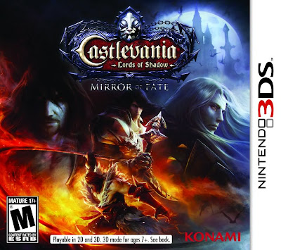 Castlevania Mirror Of Fate Cover Art