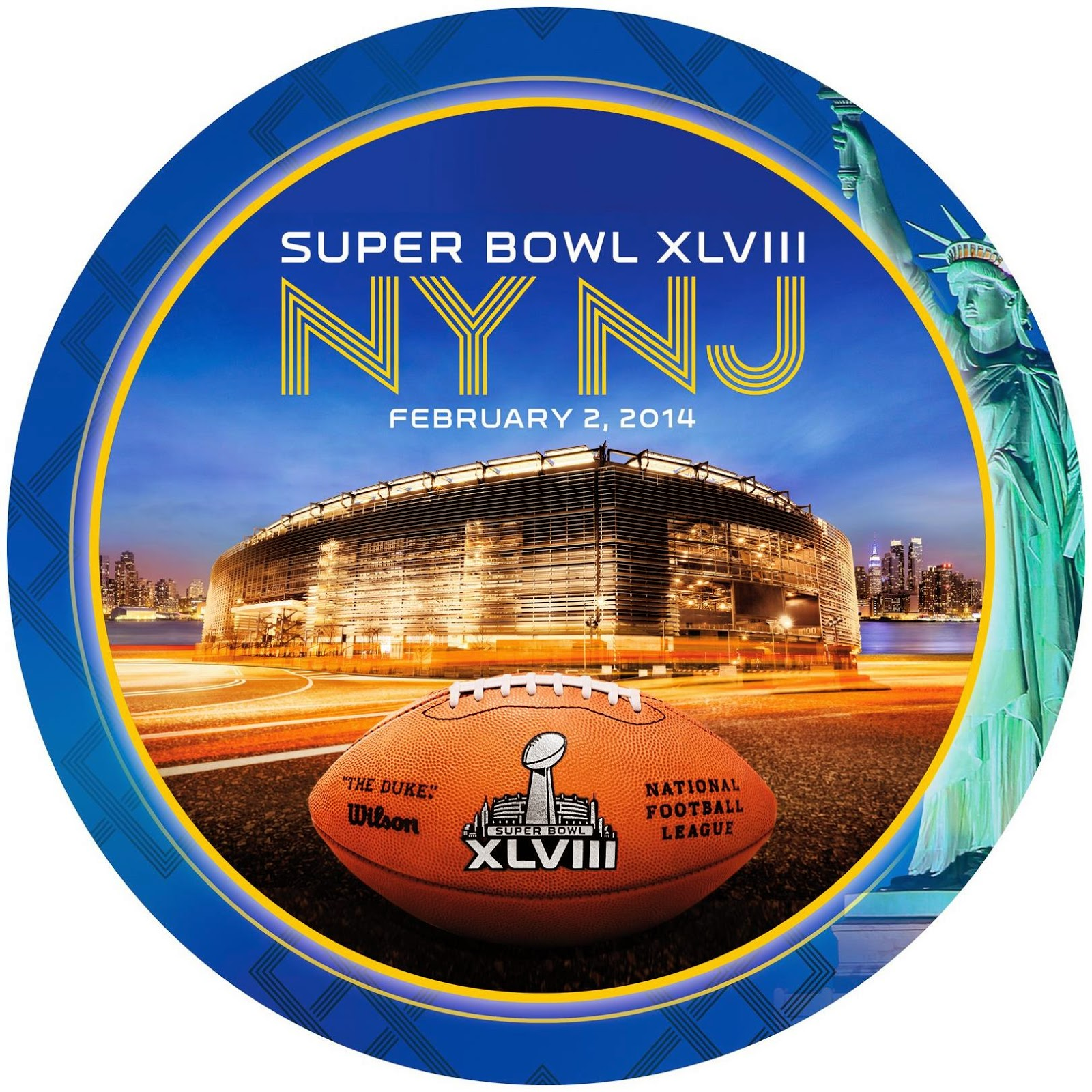 Banquet Plates for Superbowl