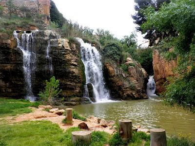 Cascadas naturales de Muel