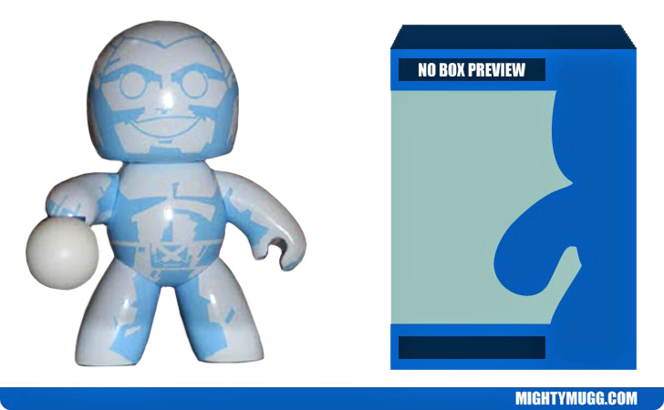 Iceman Unreleased Marvel Mighty Muggs