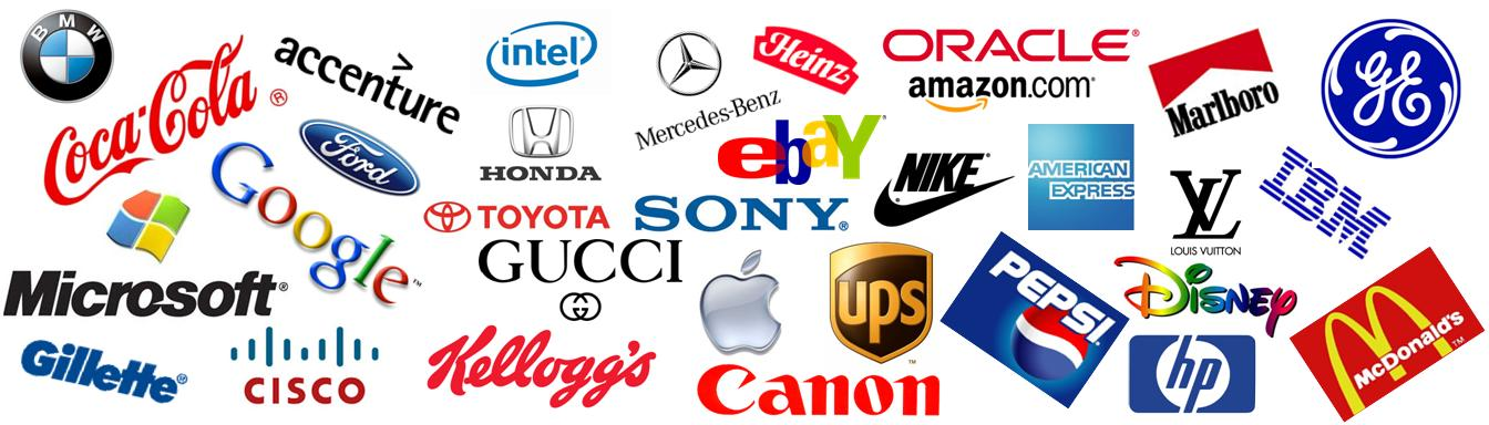 Latest new 2013 famous logos Branding and logo design companies