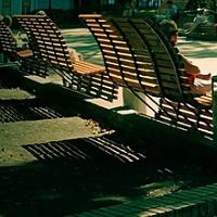 Скамейки Клауса Лефо в парке Шевченко
