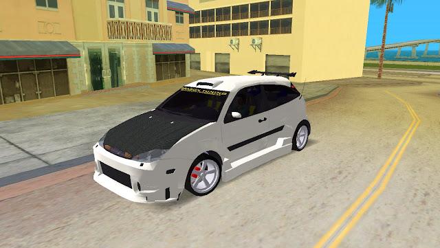 Ford Focus Dragon Tuning GTA Vice City