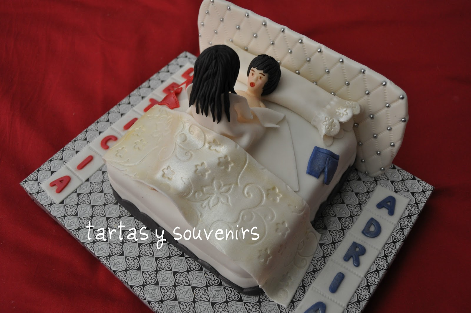 esa tarta fue un adelanto de su noche de bodas bizcocho de chocolate