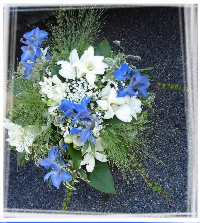Mariage original en bleu et blanc design by sandreen - Mariage bleu et blanc ...