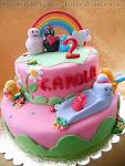 Vorresti realizzare una torta come questa... e non sai come fare?? Iscriviti ad un mio corso!