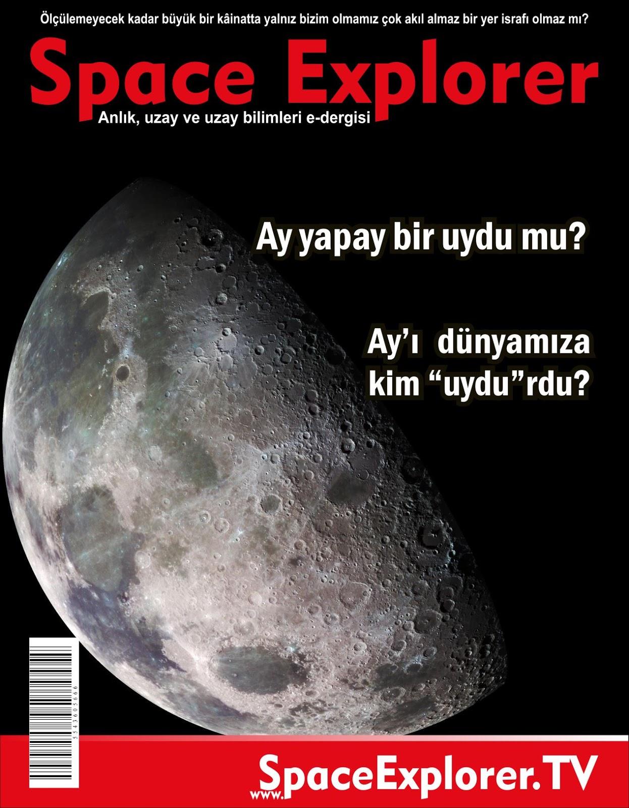 """Ay yapay bir uydu mu? Ay'ı dünyamıza kim """"uydu""""rdu?"""