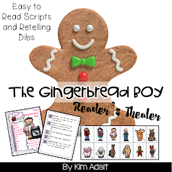 Gingerbread Boy Reader's Theater