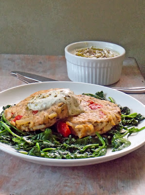Ore-Ida Pesto Chicken and Potato Patties makes a quick, satisfying meal!