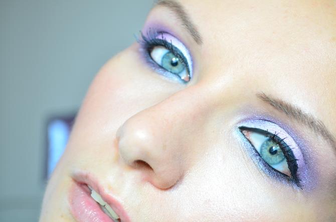 Schminktutorial mit der BH Cosmetics Galaxy Chic Baked Eyeshadow Palette