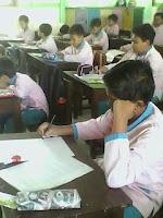 belajar di kelas, belajar, di kelas, membaca, reading, test, siswa sdii al-abidin