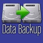 without software, data backup