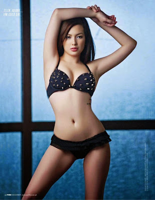 Ellen Adarna sexy photos in FHM Philippines December 2010 cover issue
