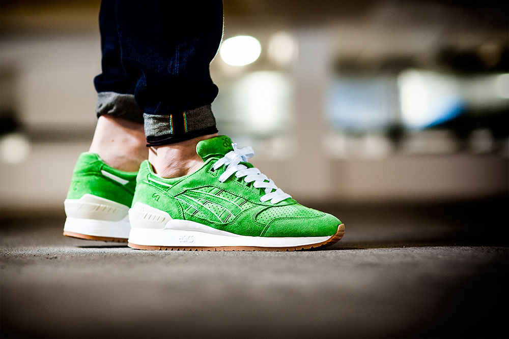 Photography of the Concepts X Asics Gel Respector 'Coca' Sneakers by Tom Cunningham