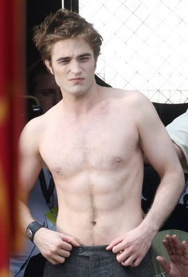 Twilight Edward Shirtless