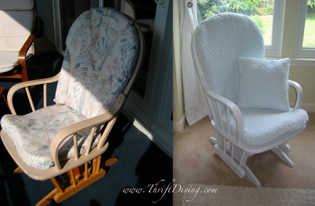 Before After Used Baby Furniture Thrift Diving Blog