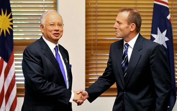 Abbott Setuju Dengan Kesimpulan Najib, MH370 Berakhir Di Lautan Hindi
