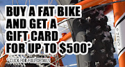 Buy a Fat Bike at Penn Cycle and Get a Gift Card for up to $500!