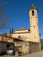 La façana de llevant de Sant Genís d'Orís