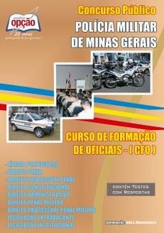 Apostila Concurso Polícia Militar de Minas Gerais - CFO PMMG 2014/2015