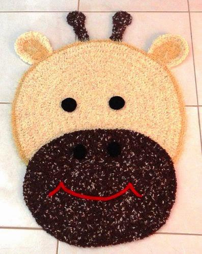 Passo a Passo Tapetes de crochê para quarto infantil  ~ Tapetes Para Quarto Infantil Em Croche