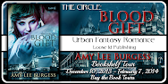 The  Circle:  Blood Gift  Bookshelf Tour & Giveaway!