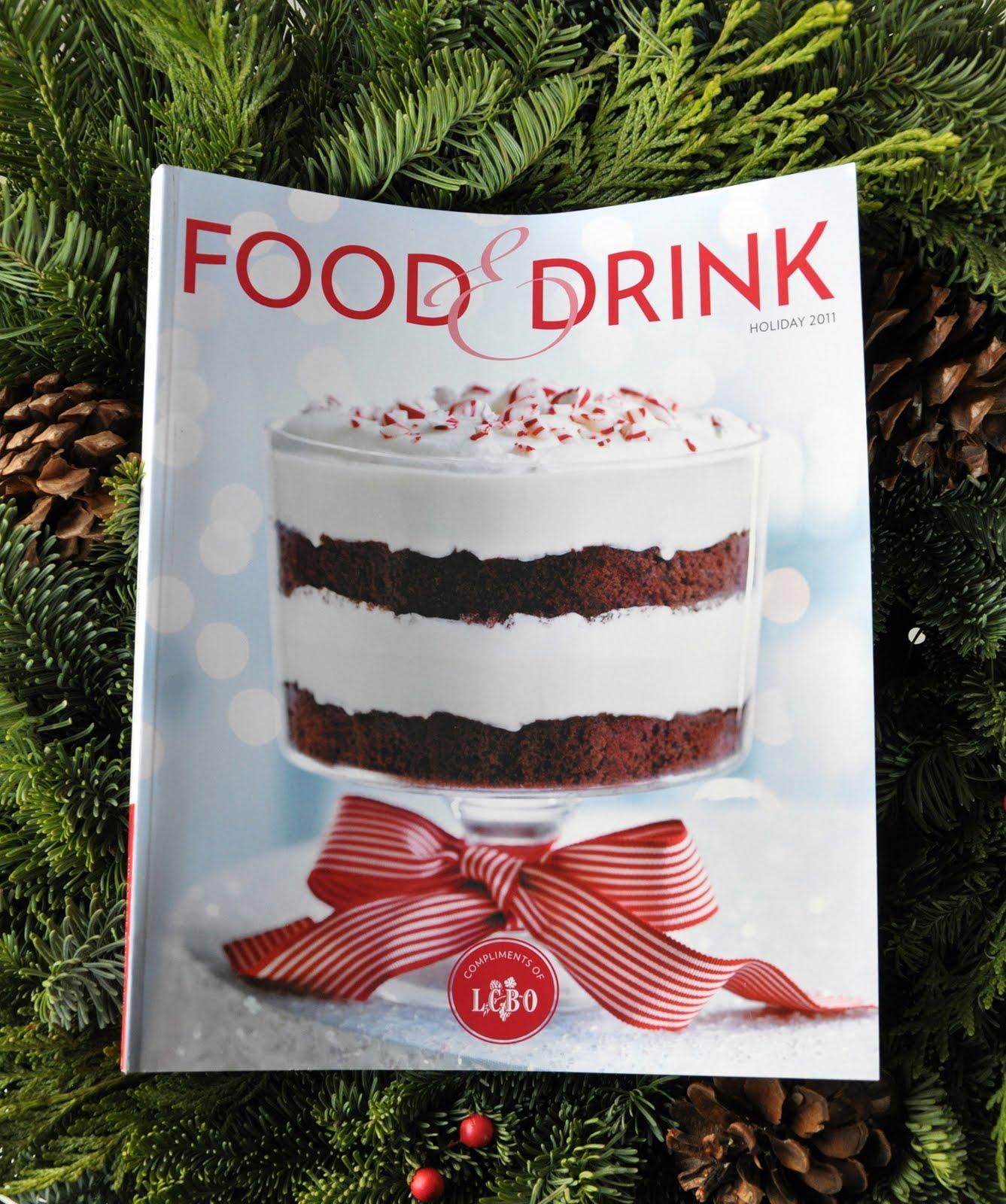 Food And Drink Magazine Logo Lcbo Food Amp Drink Magazine