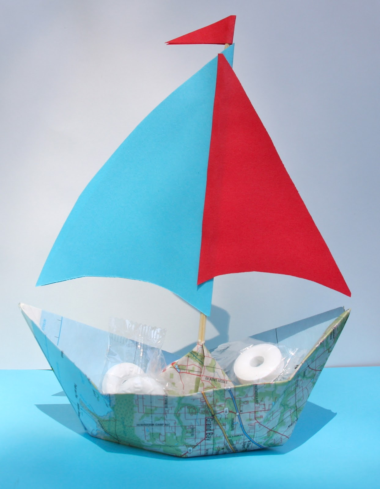 Of Such is the Kingdom: How to Make a Sailboat