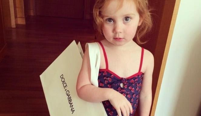Pixie Curtis, Bocah Berumur Dua Tahun Dengan Gaya Hidup Super Mewah