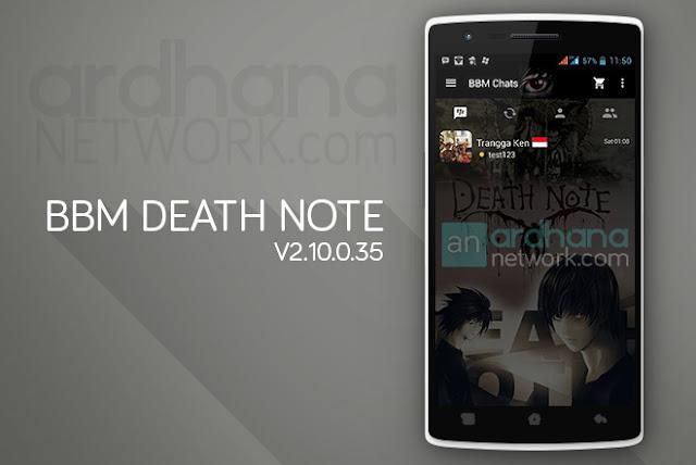 BBM Death Note V2.10.0.35