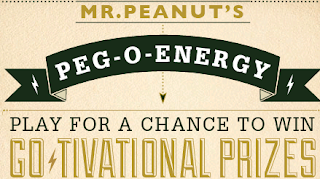 Mr Peanut's Peg-O-ENERGY Sweepstakes