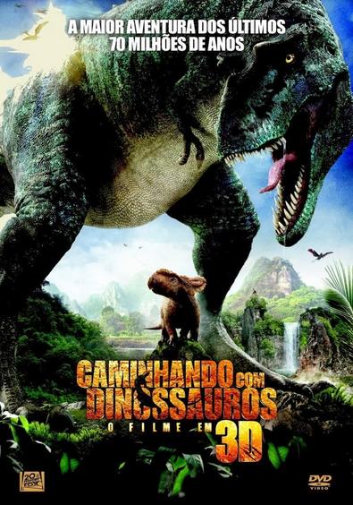 Filme Caminhando Com Dinossauros Dublado AVI BDRip