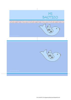 tarjetas de bautizo personalizables