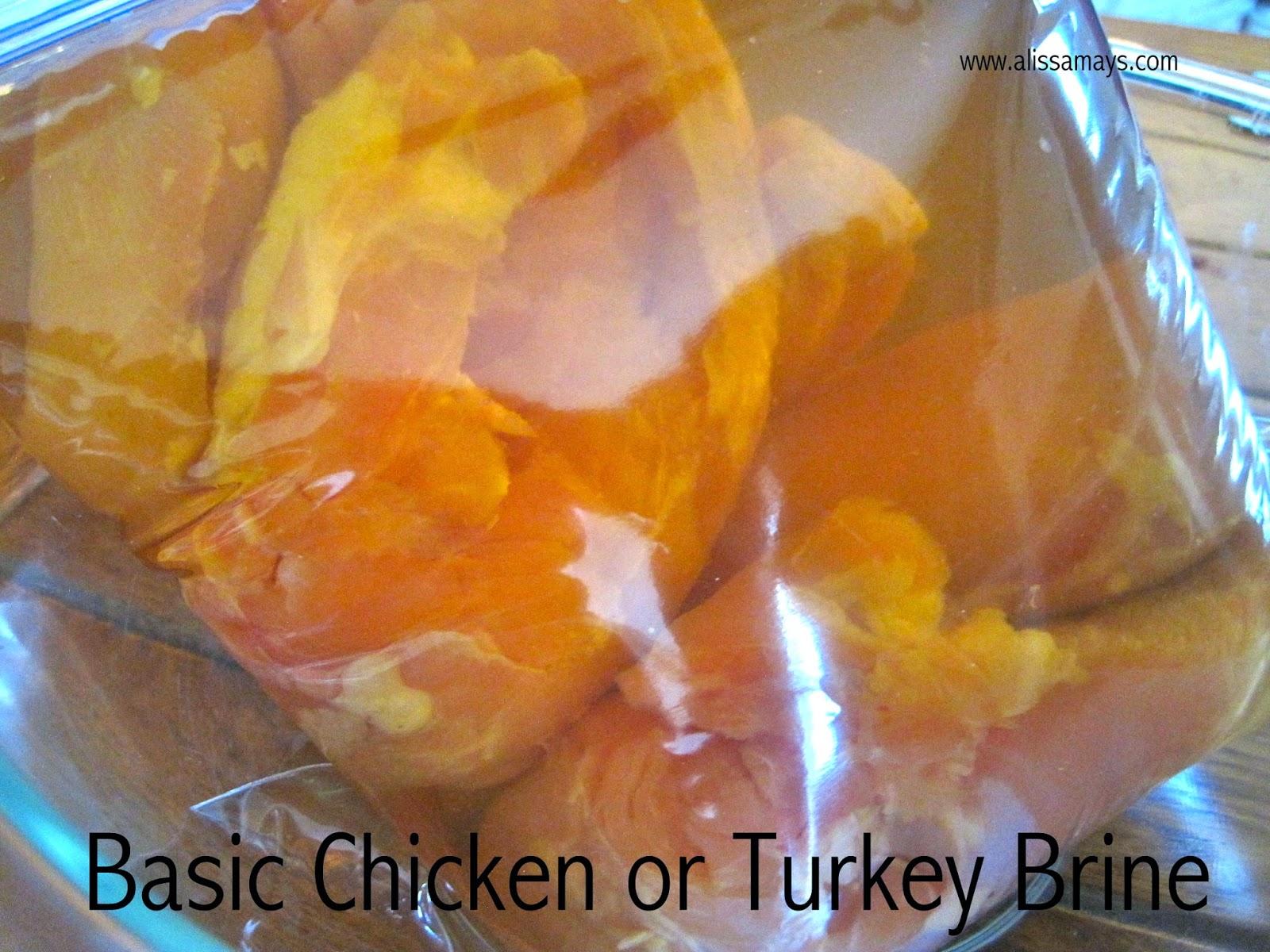 Basic Chicken or Turkey Brine