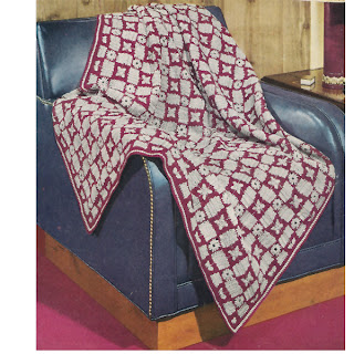 Vintage Crochet Mini Block Afghan Pattern